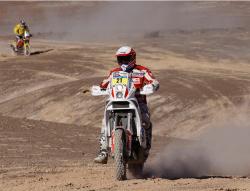Dakar 2011: ORLEN Team szybki na pustyni w Copiapo