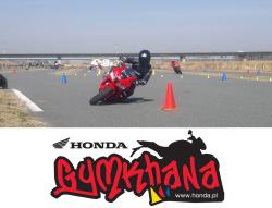 Wkrótce rusza - Honda Gymkhana
